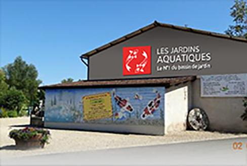 Mat riel pour bassin de jardin et d 39 ext rieur - Les jardins aquatiques saint didier sur chalaronne ...