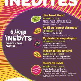 Nocturne aux Jardins Aquatiques  avec la Compagnie des Quidams !