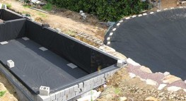 Mat riel pour bassin de jardin et d 39 ext rieur - Protection bassin de jardin ...