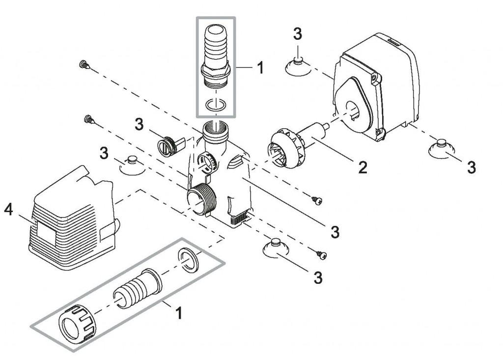 Pi ces d tach es pour pompe pour fontaine pontec for Pompe fontaine exterieur