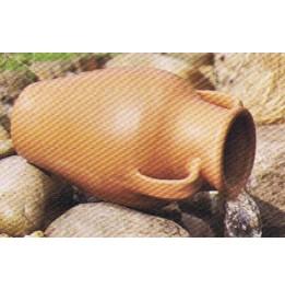 Pot tasse de jardin 35 en terre cuite for Amphore terre cuite pour jardin