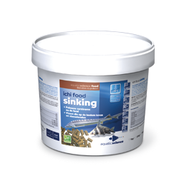 Nourriture esturgeon Ichi Food Sinking 1 Kg en 3 mm