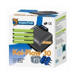 POMPE A AIR KOI FLOW 30 1800 L/H KIT AIR