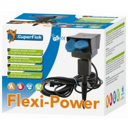 FLEXI POWER RALLONGE 4 PRISES