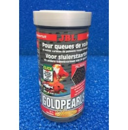 Nourriture poissons rouges JBL GoldPearls 100 ml