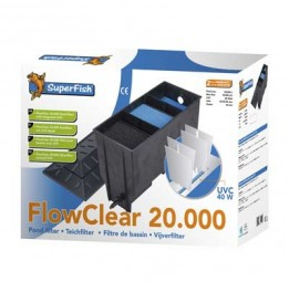 FILTRE SUPERFISH FLOWCLEAR 20000 UVC 40 WATT (POMPE NON INCLUSE)