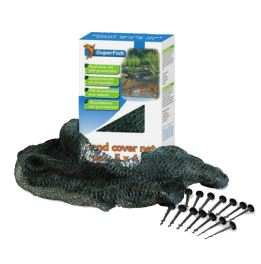 Filet de protection Superfish 10x6 m + 24 piquets