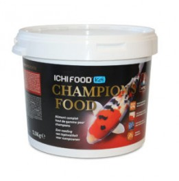 NOURRITURE KOI ICHI FOOD CHAMPION'S 4 MM 2.5 KG