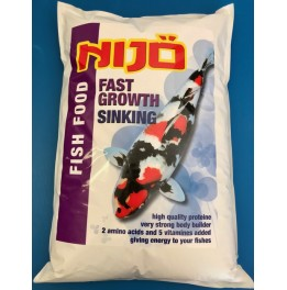 NOURRITURE KOI NIJO FAST GROWTH SINKING 5 MM 10 KG