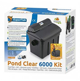 FILTRE SUPERFISH PONDCLEAR KIT 6000 UVC 7W + POND ECO 2900