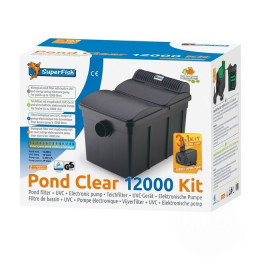 FILTRE SUPERFISH PONDCLEAR KIT 12000 UVC 13W + POND ECO 4900