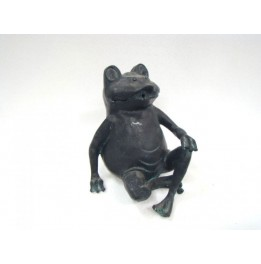 Grenouille assise