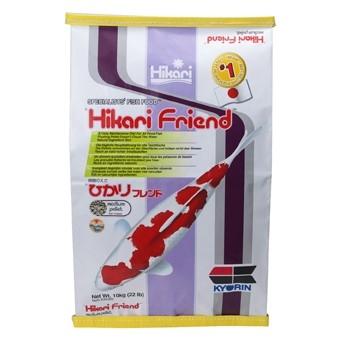 Hikari aliment hikari friend medium 10 kg nourriture pour for Nourriture carpe koi