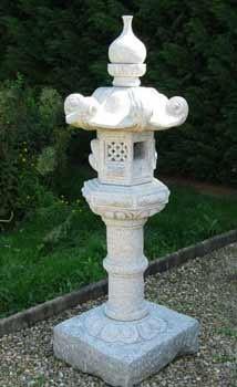 lanterne kasuga granit d coration hauteur 150 cm. Black Bedroom Furniture Sets. Home Design Ideas