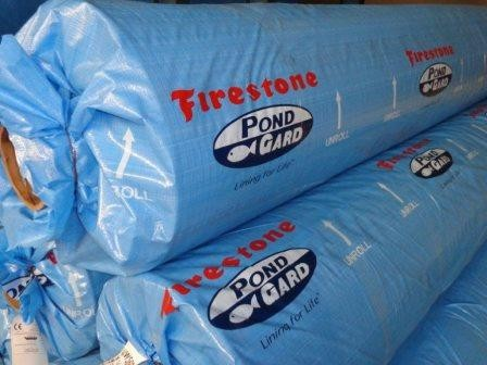 Firestone b che bassin epdm firestone 1 02 mm feutre for Bache firestone