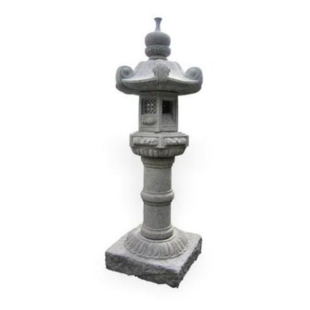 lanterne granit kasuga h 90 cm. Black Bedroom Furniture Sets. Home Design Ideas