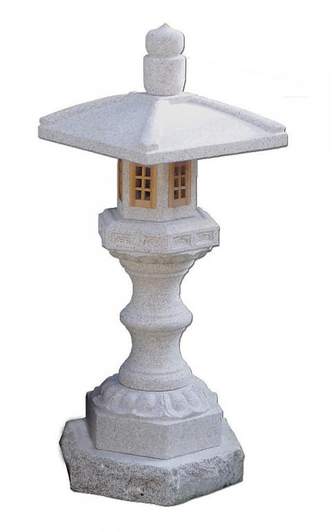 lanterne granit kitasaga h 75 cm. Black Bedroom Furniture Sets. Home Design Ideas