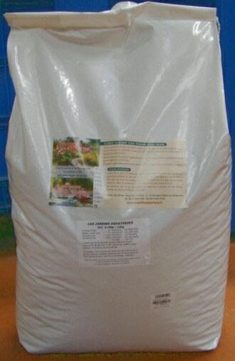 Les jardins aquatiques nourriture ko 15 kg extra 6 7 mm for Nourriture carpe koi