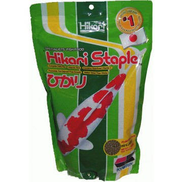 Hikari nourriture hikari staple mini 2 kg pour carpes ko for Mini carpe koi