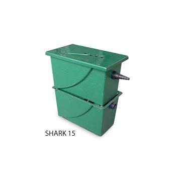 Filtre à grille pour bassin - Shark 15/10/5