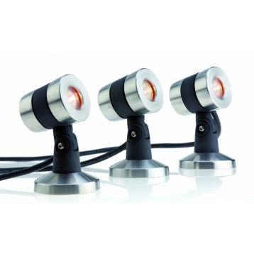 KIT projecteur Oase Lunaqua maxi LED 3W set 3