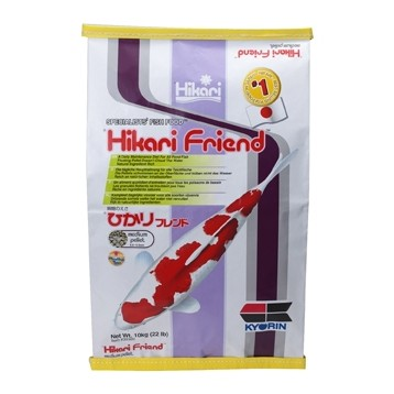 aliment Hikari Friend Medium 10 Kg (nourriture pour carpes Koi et poissons)
