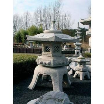 Lanterne Rokkaku yukimi (hauteur : 75 cm)