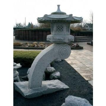 Lanterne Rankei Granit décoration (hauteur : 85 cm)