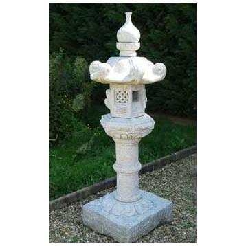 Lanterne Kasuga Granit décoration  (hauteur : 150 cm)