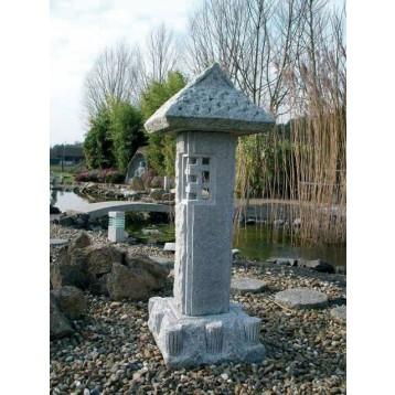 Lanterne Koyabou Granit décoration (hauteur : 90 cm)