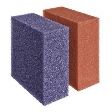 Set de mousses rouge/violette pour Biotec 12/40000 (1 rouge + 1 violette)