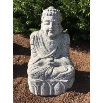 Syaka granit méditation décoration H 60 cm 80 Kg
