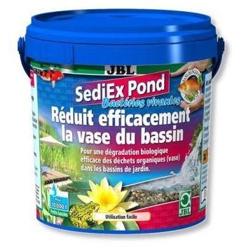 JBL SediEx Pond bactéries ANTI-VASE 1KG