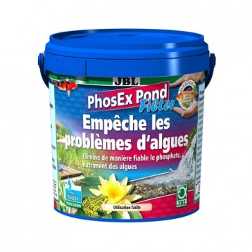 JBL PhosEx Pond Filter 500 gr traitement pour filtre anti-algues