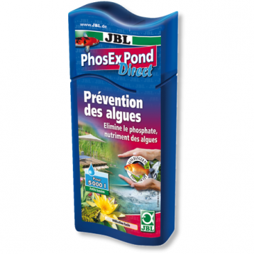 JBL PhosEx Pond Direct 250 ml anti-algues