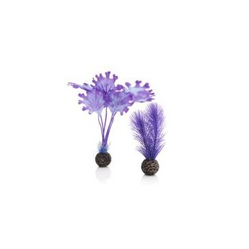 Décor Aquarium BIORB Set de Plantes Violettes