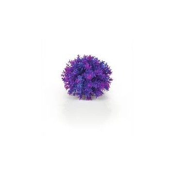 Décor Aquarium BIORB Boule Topiaire Violette