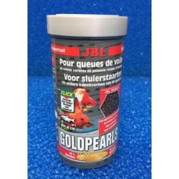 Nourriture poissons aquarium jbl goldpearls 250 ml for Nourriture aquarium