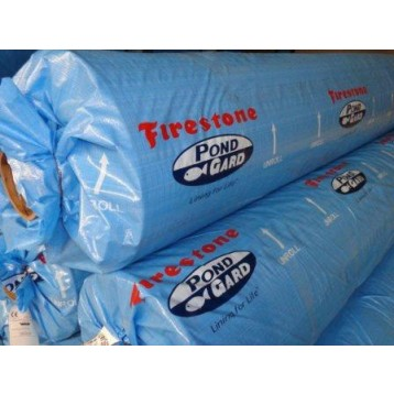 B che bassin epdm firestone 1 02 mm feutre 300 g for Bache firestone