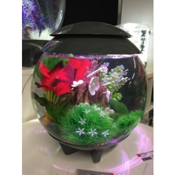 Aquarium BIORB Halo 15 MCR Gris 15 L