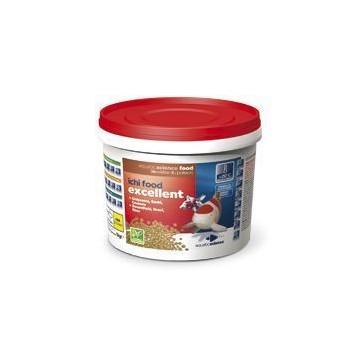 NOURRITURE ICHI FOOD EXCELLENT pour carpes koï et poissons 4 KG EN 6 MM (ALIMENT)
