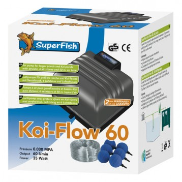 POMPE A AIR KOI FLOW 60 3600 L/H KIT AIR
