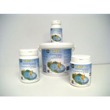 Lac + 250 g / 1.25 m3 bactéries anti-algues