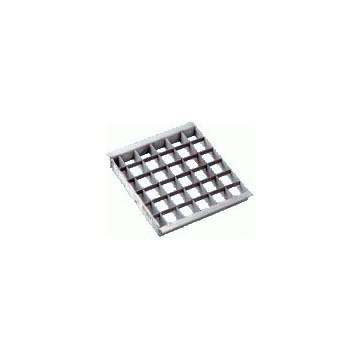 Grille métal 20 x 20 cm