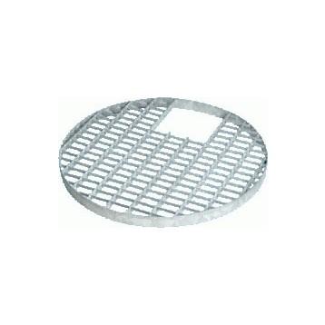 Grille métal ronde 81 cm
